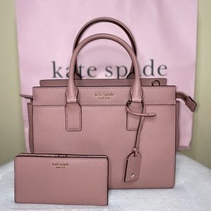Kate Spade Satchel & Bifold Wallet Set